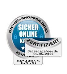 Mehr Vertrauen für Verbraucher beim Onlineeinkauf mit Echtzeitszertifikat