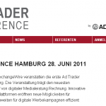 Bild: Website AD TRADER CONFERENE