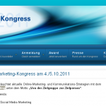 Bild: Website B2B Marketing Kongress