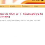 Bild: Website Marketing on tour