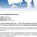 Website: Social Media Newsroom