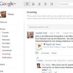 Google+ sieht wie facebook aus - ista ber ganz anders.