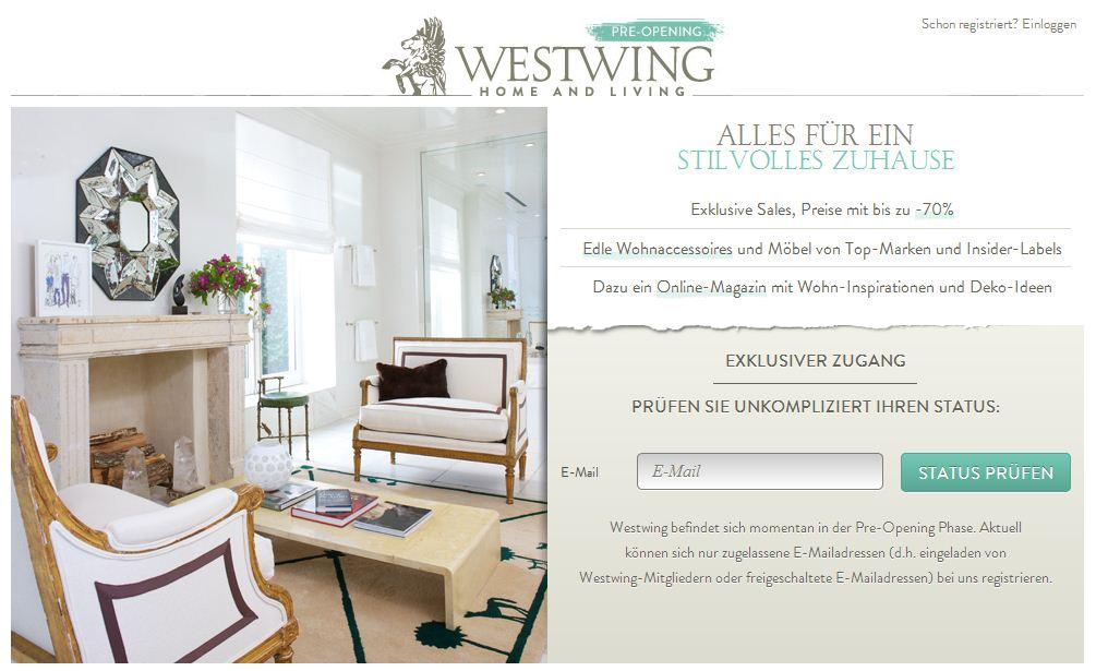 ecommerce shopping club holtzbrinck finanziert online m bel handel westwing finesites. Black Bedroom Furniture Sets. Home Design Ideas