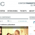 Website Content-Marketing Conference