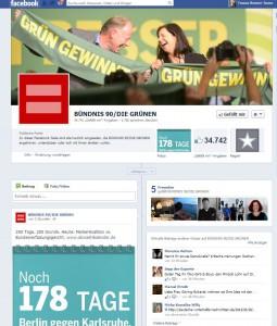 Screenshot: Facebook Die Grünen