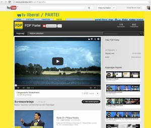 Screenshot: FDP Social Media Kanal YouTube